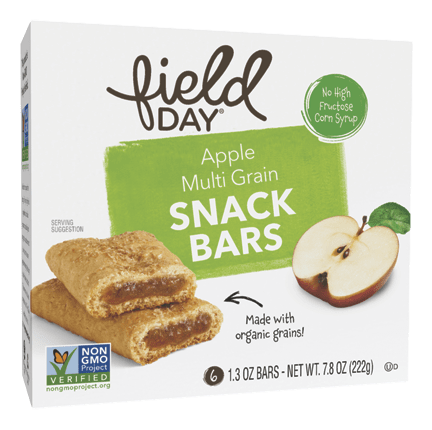 Apple Multi Grain Snack Bars