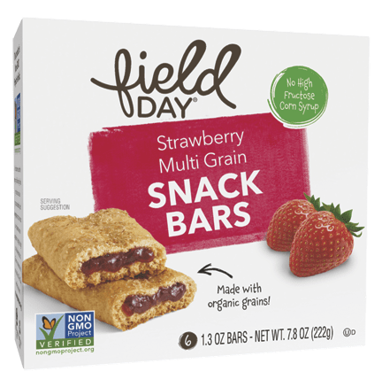 Strawberry Multi Grain Snack Bars