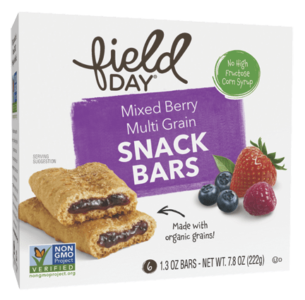 Mixed Berry Multi Grain Snack Bars