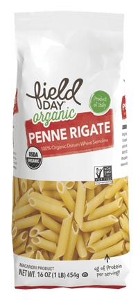 Organic Traditional Penne Pasta