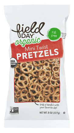 Mini Twist Organic Pretzels