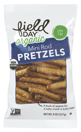 Mini Rod Organic Pretzels