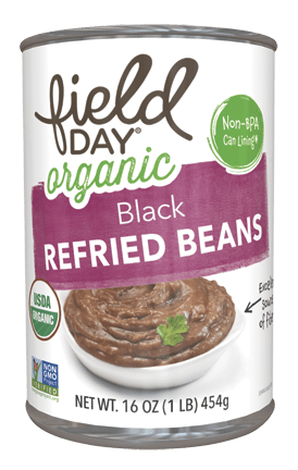 Organic Black Refried Beans