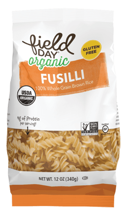 Organic Brown Rice Fusilli Pasta