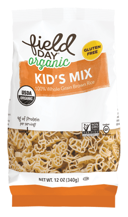 Organic Brown Rice Kids Mix Pasta