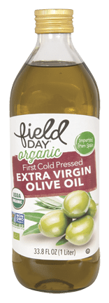 Organic Imported Extra Virgin Olive Oil, 1L