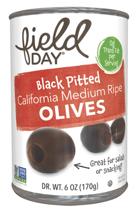Black Pitted California Medium Ripe Olives