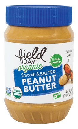 Organic Smooth & Salted Peanut Butter