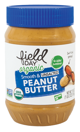 Organic Smooth & Unsalted Peanut Butter