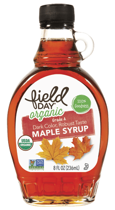 Organic Grade A Maple Syrup, 8 fl oz
