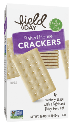 Baked House Crackers