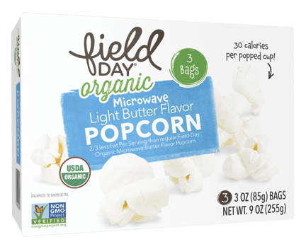 Organic Microwave Light Butter Popcorn