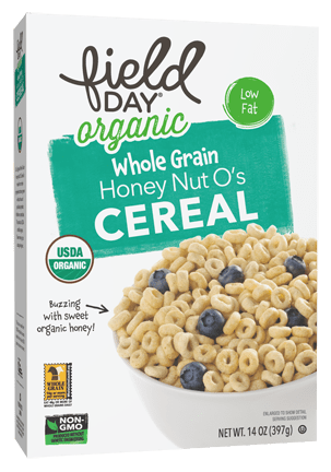 Organic Honey Nut O's Whole Grain Cereal