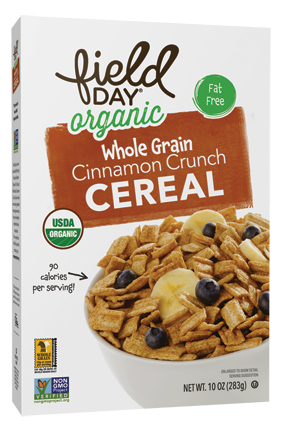 Organic Cinnamon Crunch Whole Grain Cereal