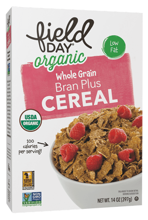 Organic Bran Plus Whole Grain Cereal