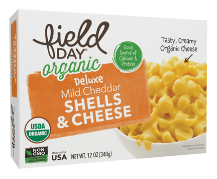 Organic Deluxe Mild Cheddar Macaroni Shells & Cheese