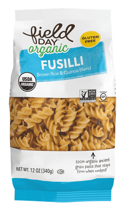 Organic Fusilli Brown Rice & Quinoa Blend Pasta