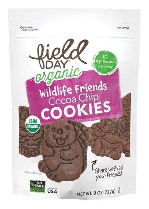 Organic Wildlife Friends Cocoa Chip Cookies
