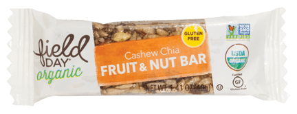 Organic Cashew Chia Fruit & Nut Bars