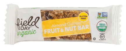 Organic Almond Quinoa Fruit & Nut Bars