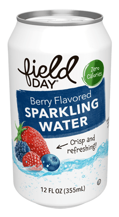 Berry Flavored Sparkling Water