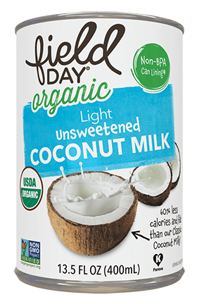 Organic Light Unsweetened Coconut Milk
