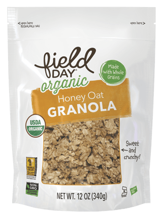 Organic Honey Oat Granola