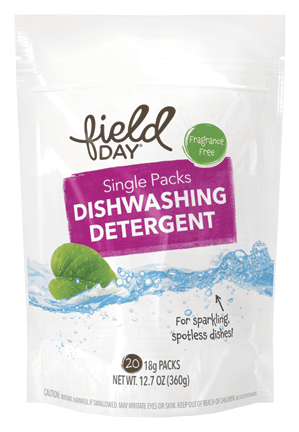 Single Packs Dishwashing Detergent