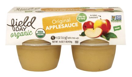 Organic Original Applesauce 4-pack cups