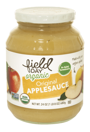 Organic Original Applesauce Jar