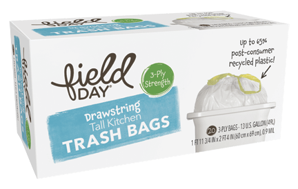 Drawstring Tall Kitchen Trash Bags