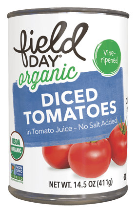 Organic Diced Tomatoes in Tomato Juice, No Salt Added