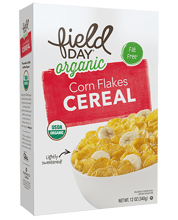 Organic Corn Flakes Cereal
