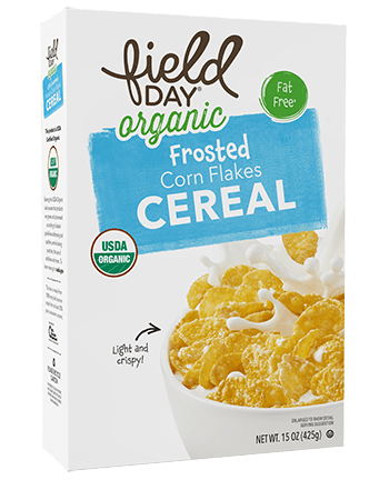 Organic Frosted Corn Flakes Cereal