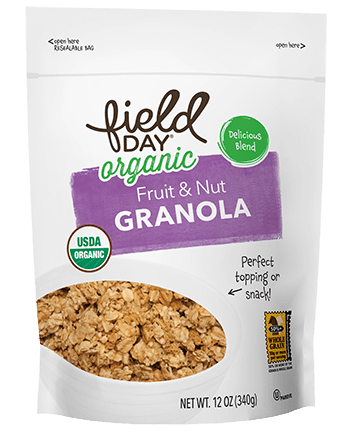 Organic Fruit & Nut Granola