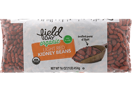 Organic Light Red Kidney Beans