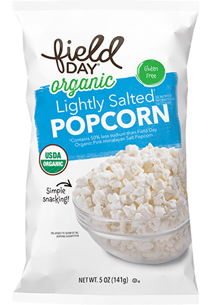 Organic Lightly Salted Popcorn
